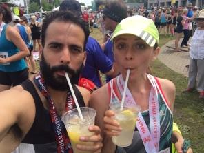 Ottawa Half Marathon Recovery Zone